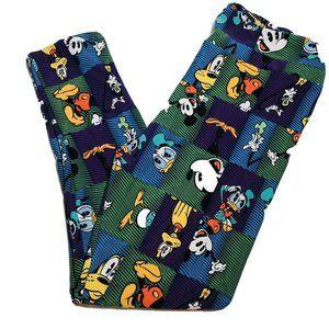 Lularoe Disney Tall And Curvy Mickey Mouse Legging